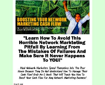 Boosting Your Network Marketing Cash Flow Coupon Codes
