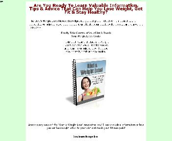Diet & Weight Loss Newsletter Comes with Private Label Rights Coupon Codes