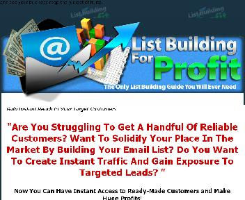 The Only List Building Guide You Will Ever Need Coupon Codes