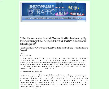 UNSTABLE FB TRAFFIC Coupon Codes