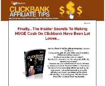 Clickbank Affiliate Tips Coupon Codes