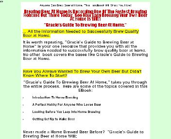 Gracie's Guide to Brewing Beer at Home Coupon Codes