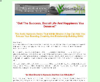 Branding And Relationship Building Audio Hypnosis Series Coupon Codes