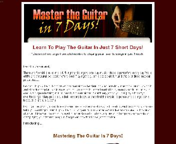 Master The Guitar In 7 Days Coupon Codes