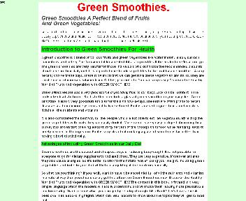 Smoothies Coupon Codes