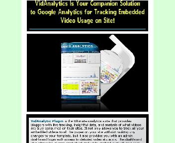 Video Analytics Plugin Comes with Resale Rights Coupon Codes