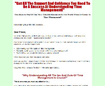 What Is Time Management Comes with Master Resale/Giveaway Rights Coupon Codes