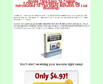 Your First Email List eCourse Comes with Private Label Rights Coupon Codes