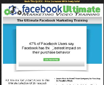 Facebook Ultimate Marketing Video Training Coupon Codes