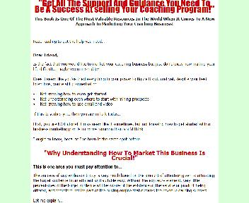 Selling Your Coaching Program Coupon Codes