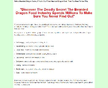 Bearded Dragons Food Secrets Coupon Codes