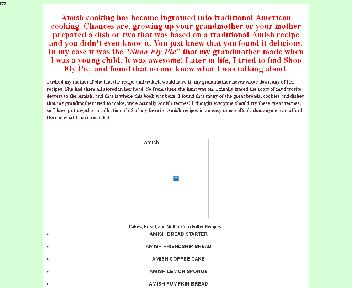 65 Tried and True Traditional Amish Recipes Coupon Codes