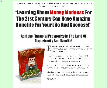 Money Madness For The 21st Century Comes with Master Resale Rights Coupon Codes