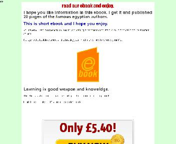 Important Egyptian Authors Coupon Codes