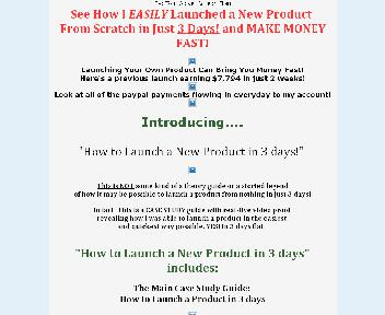 How to Launch a New Product in 3 Days Coupon Codes