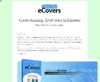 Fast And Easy eCovers Coupon Codes