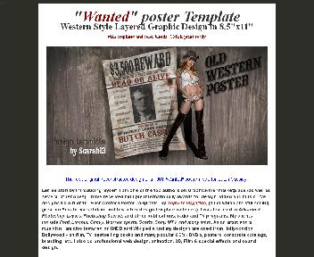 """Editable """"Wanted"""" poster of Butch Cassidy Coupon Codes"""