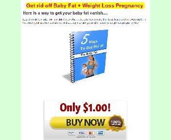5 ways to get of the baby fat + Weight Loss Pregnancy Coupon Codes