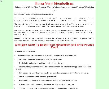 Boost Your Metabolism. Coupon Codes