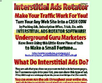 Interstitial Ads Rotator Coupon Codes